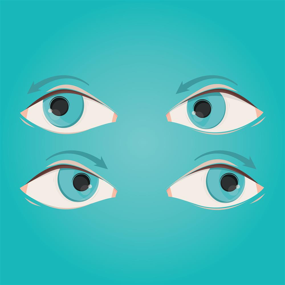 eye exercises, eye health, eyeball, examples