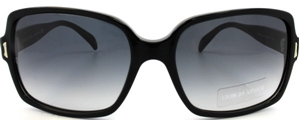 Picture of Giorgio Armani: Black: Non-Polarized: 843S 807JJ