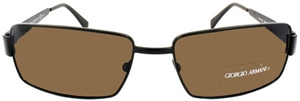Picture of Giorgio Armani: Brown: Non-Polarized: 752S QRHA6