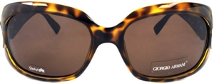 Picture of Giorgio Armani: Havana: Non-Polarized: 654S-V088U