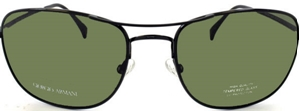 Picture of Giorgio Armani: Shiny Black: Non-Polarized: 860S 006HY
