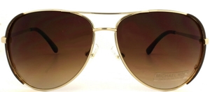 Picture of Michael Kors: Gold: Non-Polarized: 3001S 717