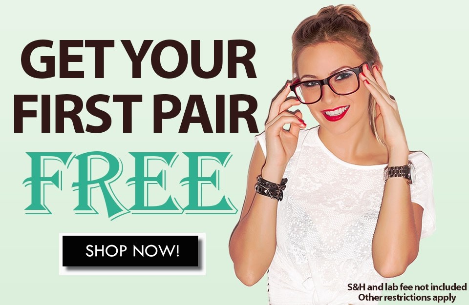 First Pair Free - USA ONLY