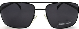 Picture of Giorgio Armani: Shiny Black: Non-Polarized: 749S 006Y1