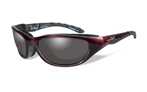 Picture of WileyX: AIR RAGE 691:Liquid Plum Frame:Smoke Grey Lens