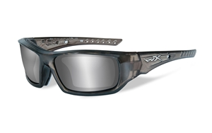 Picture of WileyX: ARROW: Liquid Grey Frame: Silver Flash Lens