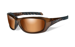 Picture of WileyX:GRAVITY: Brown Crystal Frame:Bronzo Flash Lens