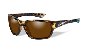 Picture of WileyX: MOXY:Gloss Demi Frame:Polarized Bronze Lens
