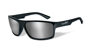 Picture of WileyX:PEAK:Gloss Black Frame:Silver Flash Lens