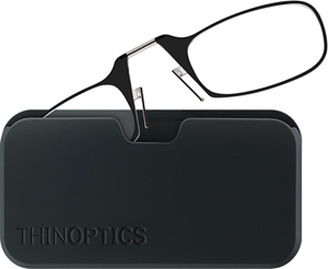 Picture of ThinOPTICS Readers Universal Pod - Black +1.00