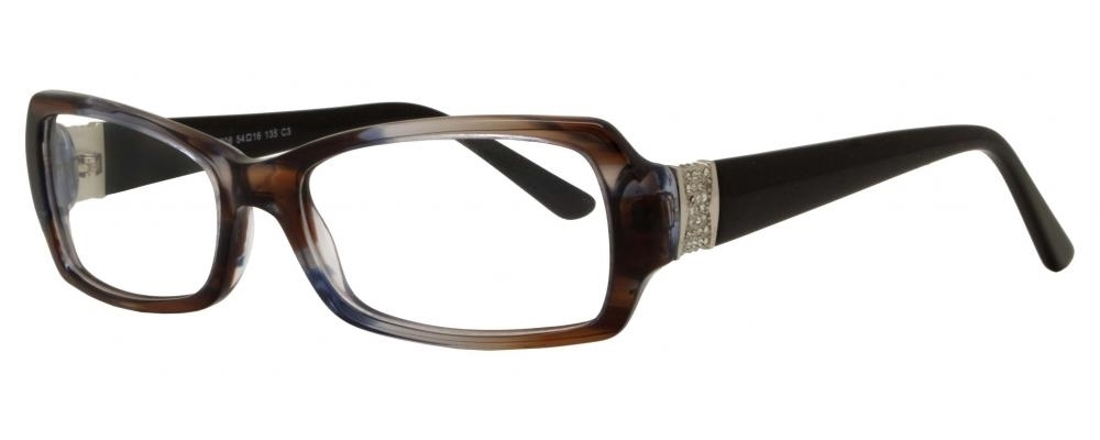 Picture of Cheyenne:BE5206 C3:Brown and Blue Demi