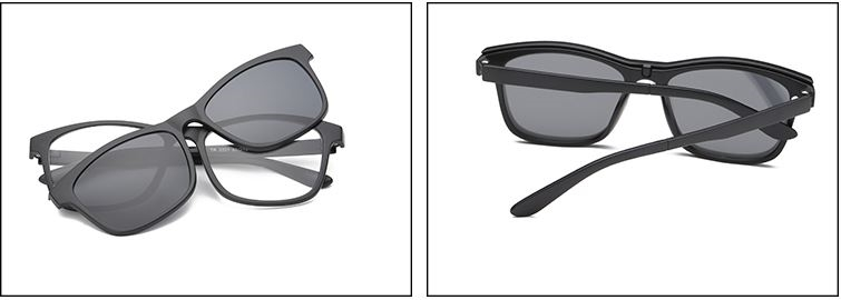Picture of Arlington: TR2201 C1: Black Frame with Smoke Polarized Clip On