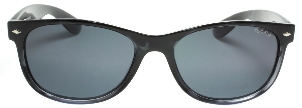 Picture of FLOATS:F4237-01-Black Demi Frame:Grey Polarized Lens