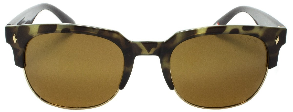 Picture of FLOATS:F4249-01:Demi and Gold Frame:Polarized Mirror Gold Lens